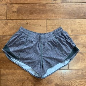Hotty Hot Short Lululemon grey shorts